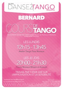 cours tango